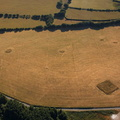 Bronze Age barrows on Martinhoe Common aerial photograph