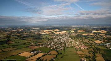 Ottery St Mary  Devon from the air