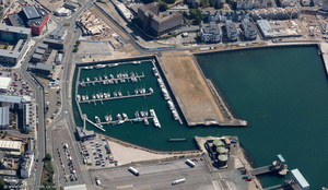 King Point Marina Plymouth  aerial photograph