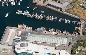 Plymouth Fisheries   aerial photograph