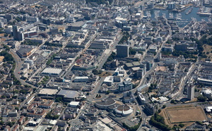 Plymouth  aerial photograph