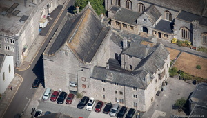 Prysten House,  Plymouth   aerial photograph