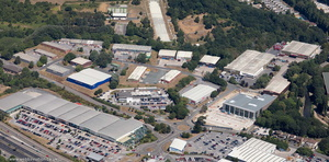 St Modwen Road Parkway Industrial Park Plymouth  aerial photograph