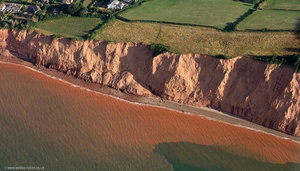 Jurassic Coast World Heritage Site from the air