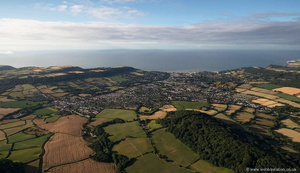 Sidmouth  Devon from the air