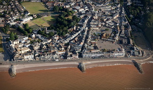 Sidmouth from the air