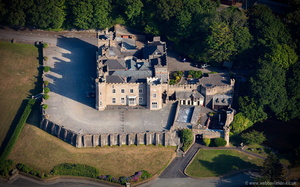 Watermouth Castle aerial photograph