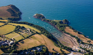 Watermouth harbour  aerial photograph