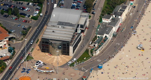 IMAX cinema complex  Bournemouth from the air