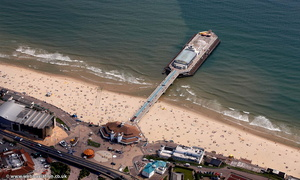 Bournemouth Pier from the air