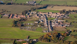 Byers Green Durham England UK aerial photograph