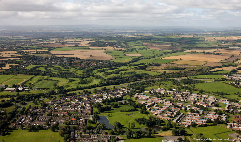 Newton Aycliffe County Durham from the air