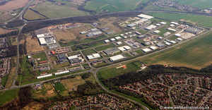 Teesside Industrial Estate  aerial photograph
