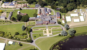 Ashburnham Place from the air