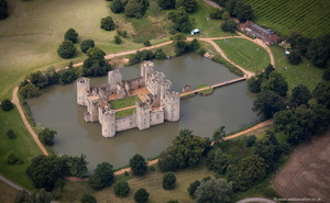 Bodiam Castle from the air