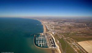 Brighton Marina  Brighton East Sussex  aerial photograph