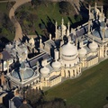 the Royal Pavilion, aka  Brighton Pavilion Brighton Brighton East Sussex  aerial photograph
