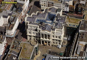 Brighton Town Hall Brighton East Sussex  aerial photograph
