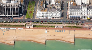 Eastbourne East Sussex aerial photograph