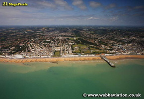 Hastings East Sussex aerial photograph