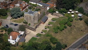 Rye Castle aka Ypres Tower  aerial photo