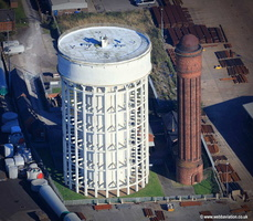 Goole water towers aerial photograph