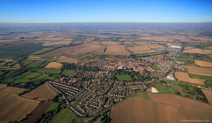 Howden Yorkshire aerial photograph