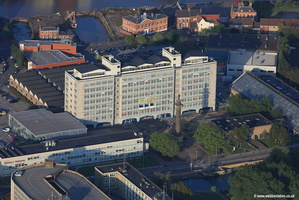 Hull College aerial photograph