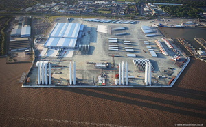 Green Port Hull aerial photograph