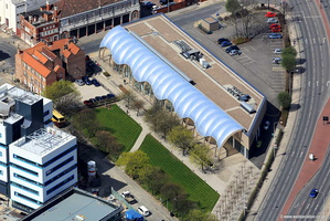 Hull History Centre aerial photograph