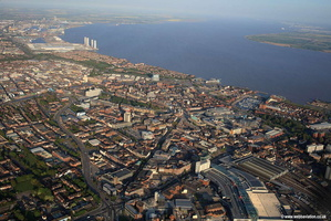 Hull UK aerial photograph