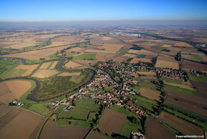 Rawcliffe Yorkshire  aerial photograph