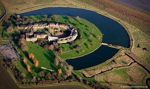 Coalhouse Fort from the air