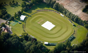 Colchester & East Essex Cricket Club cricket ground from the air