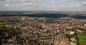 Colchester from the air