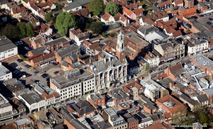 Castle Park  Colchester from the air