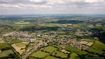 Bourton-on-the-Water  aerial photograph