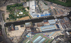 Bakers Quay  Gloucester Docks  from the air