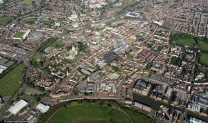 Gloucester aerial photograph