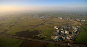 Gloucestershire Airport from the air