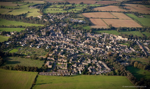 Stow-on-the-Wold aerial photograph