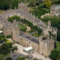 Sudeley Castle aerial photograph