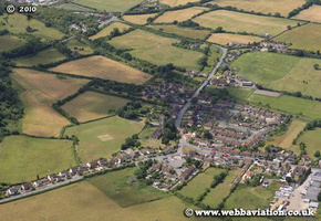 Westerleigh  Gloucestershire  England UK aerial photograph