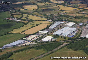 Yate Gloucestershire  England UK aerial photograph