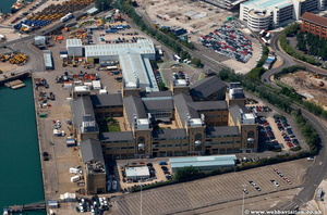National Oceanography Centre Southampton Hampshire  England UK aerial photograph