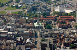 Southampton Hampshire  England UK aerial photograph