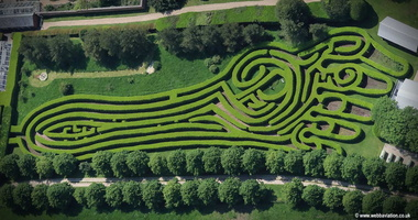 foot shaped maze in Hampshire webbaviation.co.uk