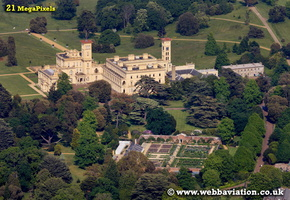 Osborne House Isle of Wight   England UK aerial photograph