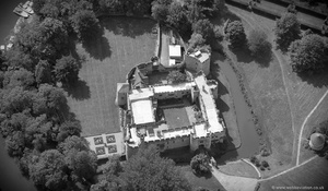 Allington Castle from the air