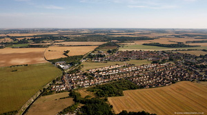 Aylesham  from the air